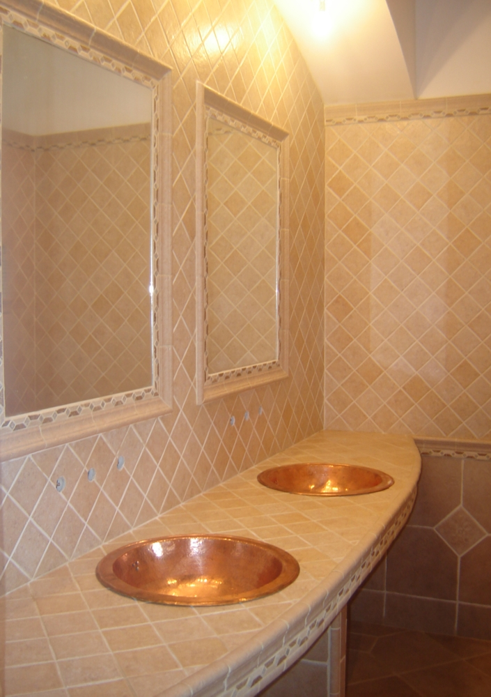 Renovation salle de bain douche italienne artisan ma on for Artisan renovation salle de bain